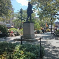 Photo taken at Abingdon Square Park by .oo. on 6/19/2013