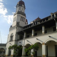 Photo taken at Lawang Sewu by Afifah K. on 6/30/2013