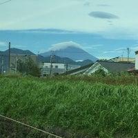 Photo taken at 小田急線 酒匂川橋梁 by Takehito T. on 9/6/2016