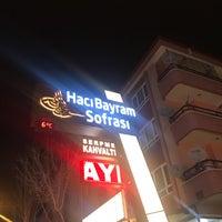 2/18/2018 tarihinde Mustafaziyaretçi tarafından Hacı Bayram Sofrası'de çekilen fotoğraf