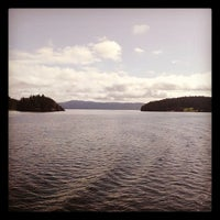 Photo taken at Orcas Island Ferry Terminal by Ryan B. on 9/21/2013