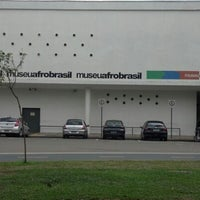Photo taken at Museu Afrobrasil by Rafael C. on 1/22/2013