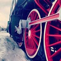 Снимок сделан в Центральный музей Октябрьской железной дороги пользователем Ksana_Popova 2/2/2013