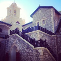 Photo taken at Kykkos Monastery by Ksana_Popova on 10/9/2013
