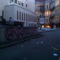 Photo taken at Єврейський дворик by Zatula on 4/18/2014