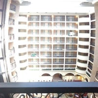 Photo taken at Embassy Suites by Hilton Dallas Park Central Area by Walter T. on 6/27/2013