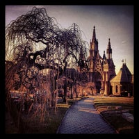 Photo taken at Green-Wood Cemetery by Mary-Majella O. on 1/11/2013