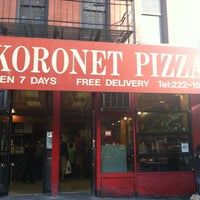 Photo taken at Koronet Pizza by Complex B. on 9/16/2012