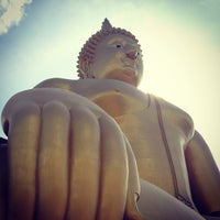 Photo taken at Wat Muang by E_HeRe_Yoi_RaNGeR on 5/26/2013