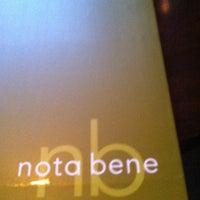Photo taken at Nota Bene by Jeff @ m. on 6/15/2013