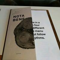 Photo taken at Nota Bene by Jeff @ m. on 8/19/2016