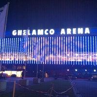 Photo taken at Ghelamco Arena by Kathelyn S. on 7/17/2013