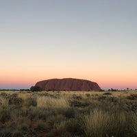 Photo taken at Uluru by Ishmail A. on 7/13/2017