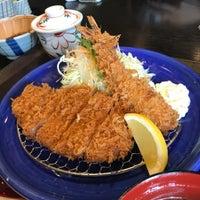 Photo taken at かつ雅 小幡店 by ラ マ. on 4/21/2017