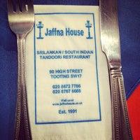 Photo taken at Jaffna House by Darren J. on 10/14/2014