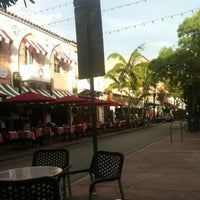Photo taken at Espanola Way Village by Agus A. on 11/13/2012