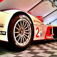 Photo taken at Audi Turn One Club, 12 Hours of Sebring by Miche M. on 3/15/2013