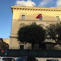Photo taken at Ambasciata Turca by Esra Z. on 2/16/2016