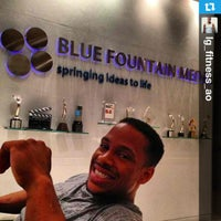 Photo taken at Blue Fountain Media by Tracey B. on 8/2/2013