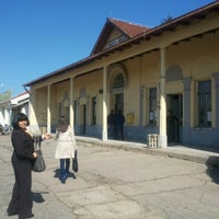 Photo taken at Железничка станица Прилеп / Prilep Train Station by Natasha V. on 4/12/2014