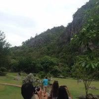 Photo taken at วนอุทยานเขานางพันธุรัต by Netnapit A. on 6/12/2016