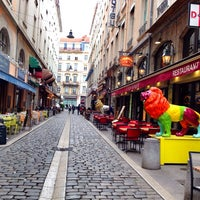 Photo taken at Rue des Marronniers by Angèle D. on 4/5/2014