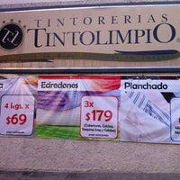 Photo taken at Tintorerias Tinto Limpio by Reyna L. on 11/13/2014