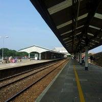 Photo taken at Truro Railway Station (TRU) by Sharifah Aznie N. on 7/21/2013