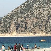Photo taken at Yeşilova Halk Plajı by Mehmet Ç. on 9/4/2017