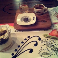 Photo taken at Karikatür Bi Kafe by Rümeysa T. on 1/9/2016