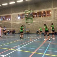 Photo taken at Gemeentelijke Sporthal by Amber V. on 4/23/2016