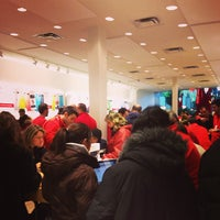 Photo taken at Apple Carrefour Laval by Jonathan P. on 12/24/2012