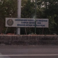 Photo taken at UFAM - Universidade Federal do Amazonas by Sérgio F. on 11/27/2012