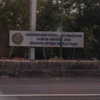 Das Foto wurde bei UFAM - Universidade Federal do Amazonas von Sérgio F. am 11/27/2012 aufgenommen