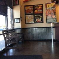 Photo taken at Wingstop by Albie M. on 10/11/2012