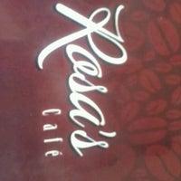 Photo taken at Rosa's Café by Lara C. on 2/8/2013