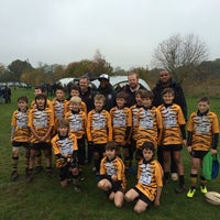 Photo taken at Reading Abbey RFC by Robin S. on 11/17/2013
