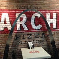Photo taken at Arch Pizza Co. by Rich C. on 11/13/2013