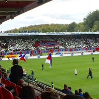 Photo taken at Voith-Arena by Pappklappe on 9/27/2015