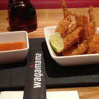 Photo taken at wagamama by Viviane S. on 3/7/2013