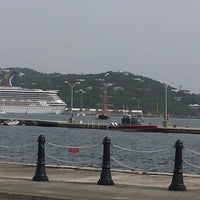 Photo taken at Charlotte Amalie Harbor by Sobe R. on 9/9/2013