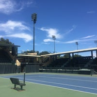 Photo taken at Taube Family Tennis Stadium by Taylor R. on 8/29/2016