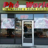 Photo taken at Pho World by Mark S. on 3/23/2017