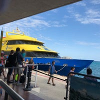 Photo taken at Ferry Terminal Mexico Waterjets by Enrique V. on 1/3/2018