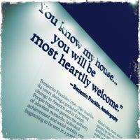 Photo taken at Benjamin Franklin by Tim O. on 8/25/2013
