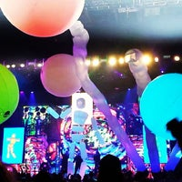 Photo taken at Blue Man Group at Universal CityWalk by Tota A. on 7/14/2013