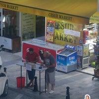 Photo taken at Cesur Market by Deniz A. on 6/22/2017