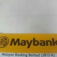 Photo taken at Maybank Parit Raja by Muhd Irfan Z. on 11/28/2016