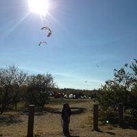 Photo taken at Kite Launch @ Sherman Island County Park by Adam B. on 8/5/2013
