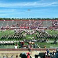 Photo taken at Warren McGuirk Alumni Stadium by Jonathan M. on 9/17/2016